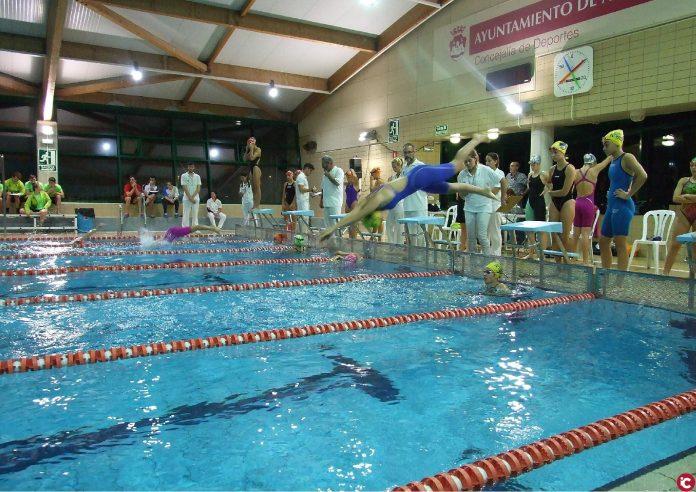 El Club Natación Aquarium Aspe organiza su primera competición oficial