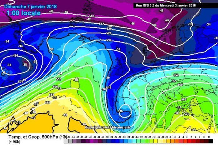 La lluvia y la nieve podrían llegar a la provincia este fin de semana