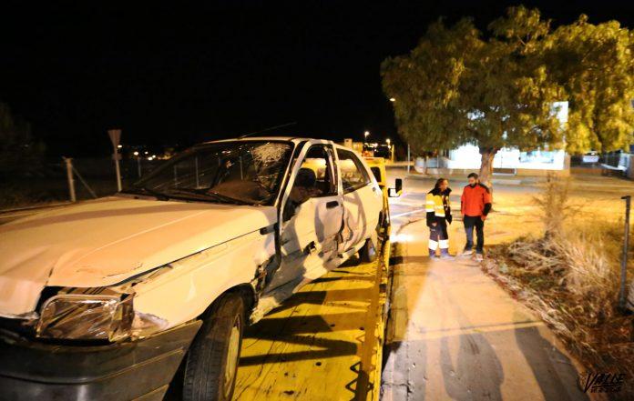 Dos heridos en una colisión entre dos vehículos en la A-31 a su paso por Petrer