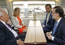 Gobierno indica que el AVE llegará a Murcia en 2018