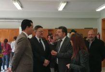 Puig promete 3 millones de euros para los polígonos industriales de Elda