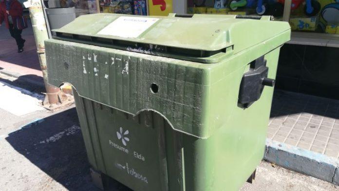 Elda en contra de la posible subida económica por el depósito de basuras propuesta al Consorcio
