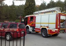 Los bomberos de Elda rescatan a una senderista