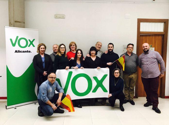 VOX crece y se implanta en la provincia de Alicante