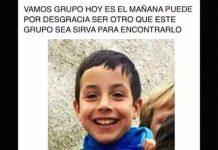 Gabriel Cruz Ramirez Desaparecido en Almeria