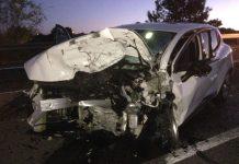 Monovar: Dos heridos leves en un choque frontal