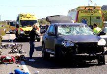 Mallorca: Queda libre la conductora drogada que mató a un ciclista