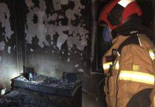 Sucesos: Un anciano muere en el incendio de su vivienda en Alcorcón