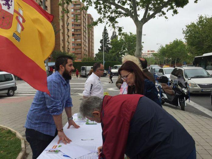 VOX ALICANTE realiza una campaña informativa por diferentes municipios de la provincia alicantina.