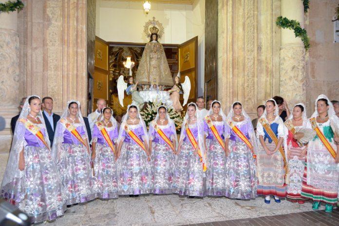 El 600 Aniversario de la Virgen de las Nieves de Aspe ya tiene Damas de Honor