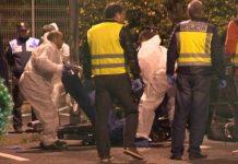Muere un hombre acribillado a tiros frente a una escuela de idiomas