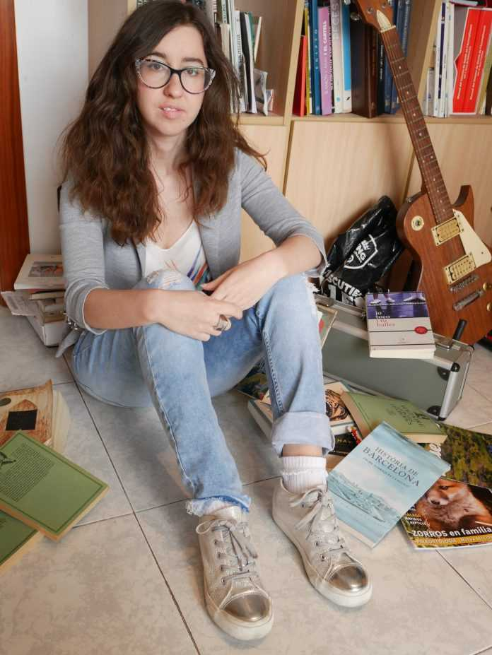 Nuria Segarra autora del libro