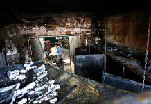 Incendio en una fábrica en Petrer y un jardín en Novelda
