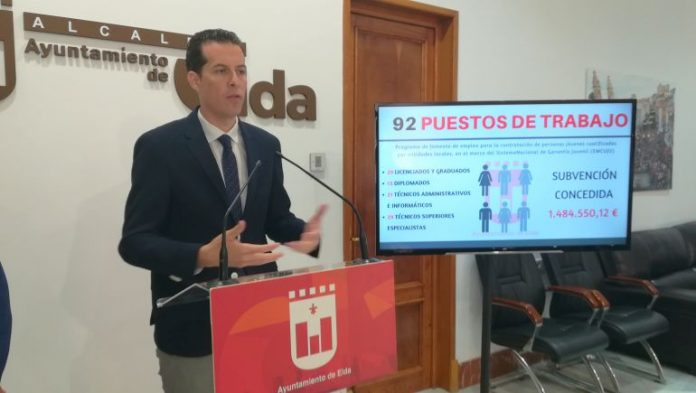 Elda: El Ayuntamiento hace oficial empleo a mas de 90 Personas