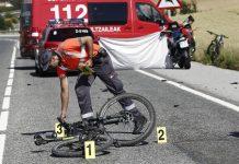 Elche: Un ciclista herido al chocar con un coche