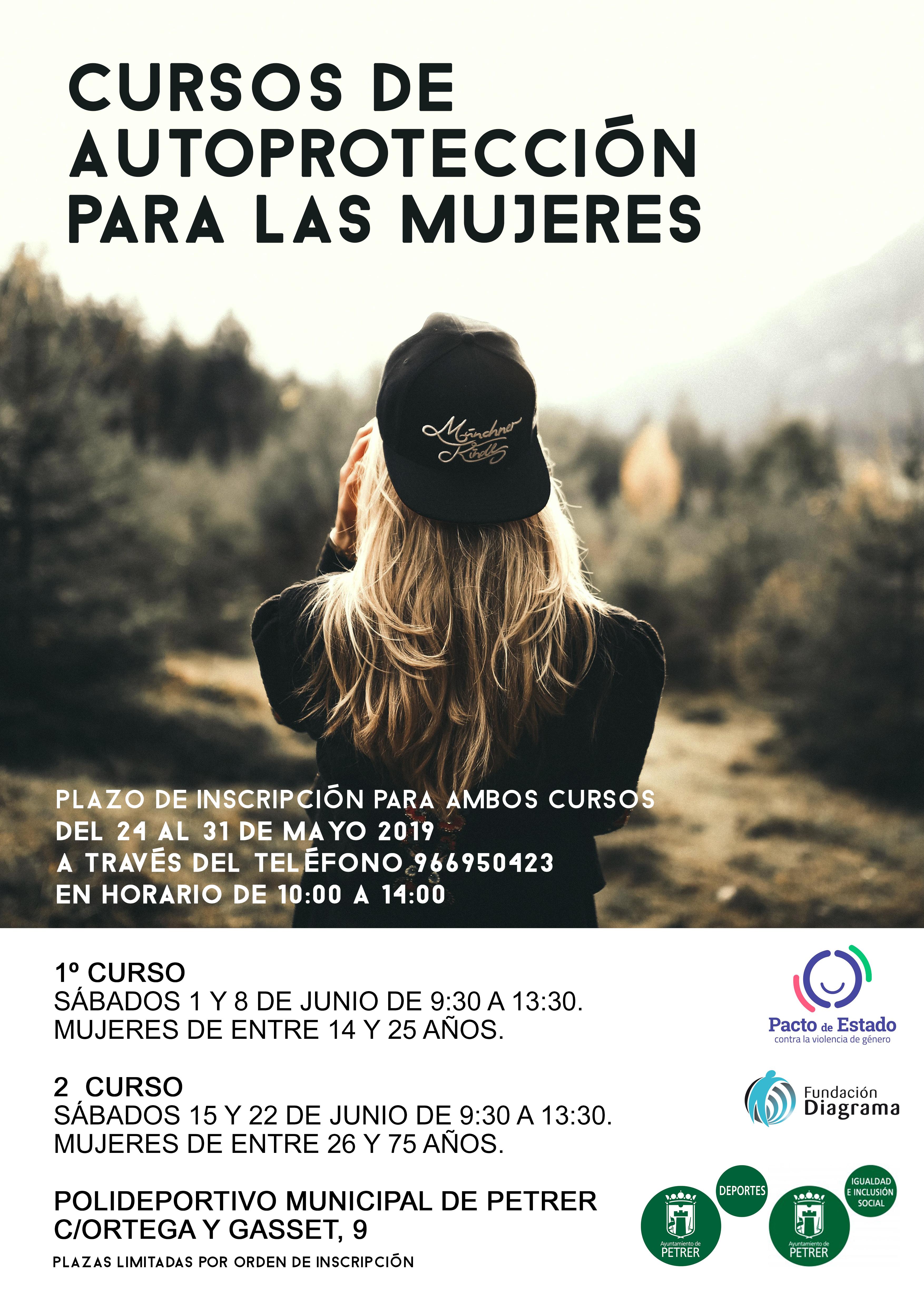 Curso de Autoprotección para mujeres en Petrer