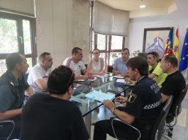El Ayuntamiento de Aspe prepara el dispositivo de seguridad para la fiestas patronales de agosto