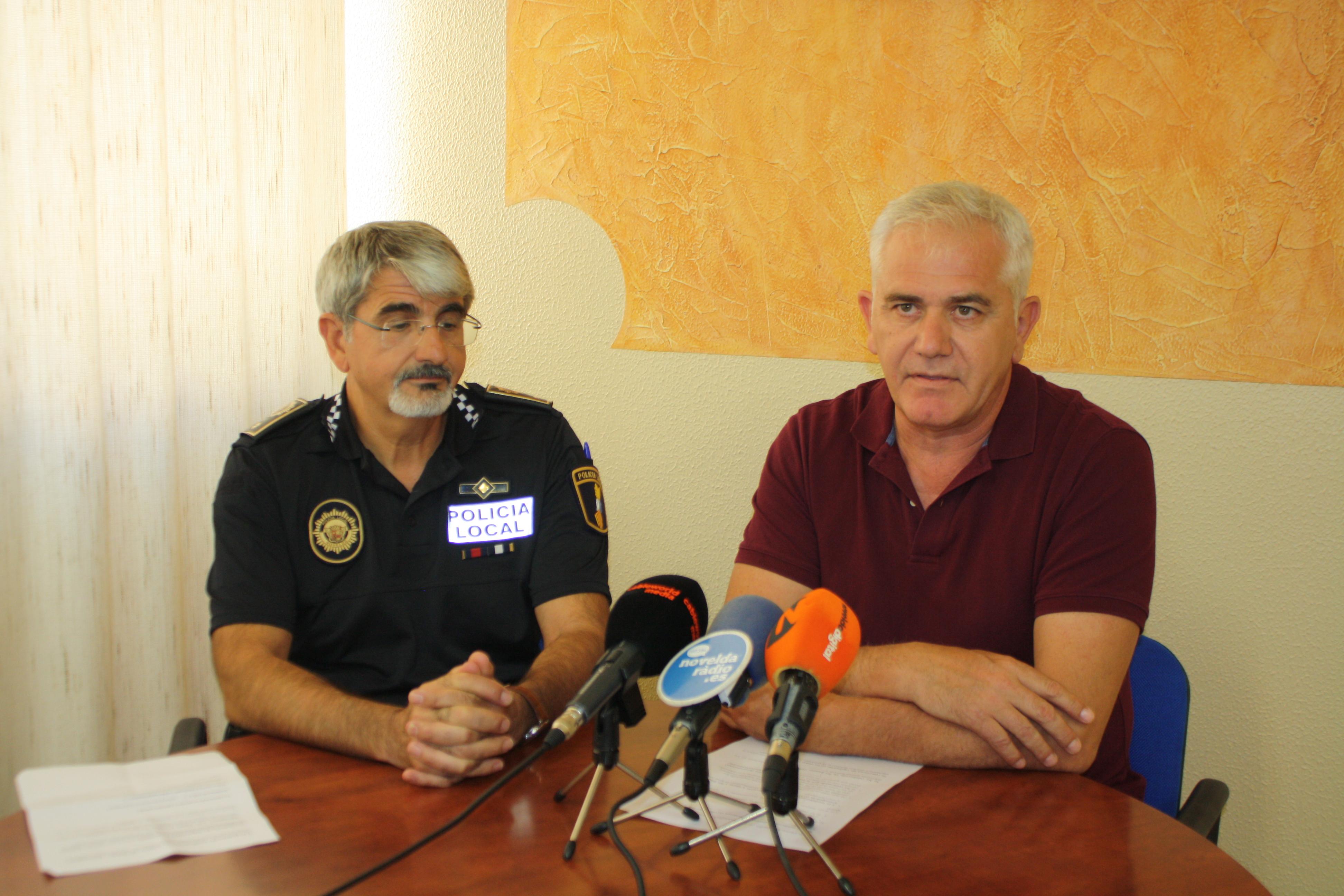 """NOVELDA: Seguridad Ciudadana hace un balance """"muy positivo"""" de la seguridad en Fiestas"""