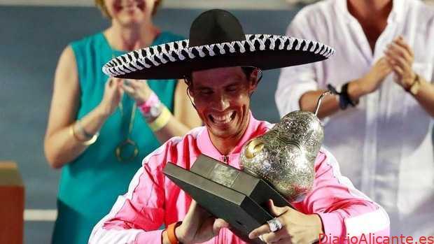 Rafael Nadal, Campeón en Acapulco