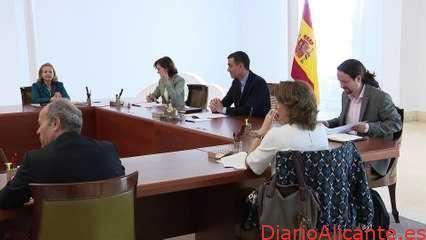 Pablo Iglesias se salta la cuarentena y acude físicamente al Consejo de Ministros