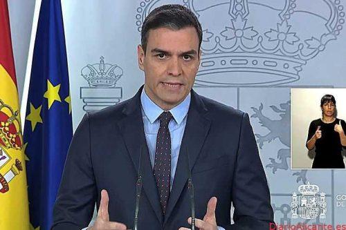 Pedro Sánchez comunica a las comunidades que el estado de alarma se prorrogará 15 días más
