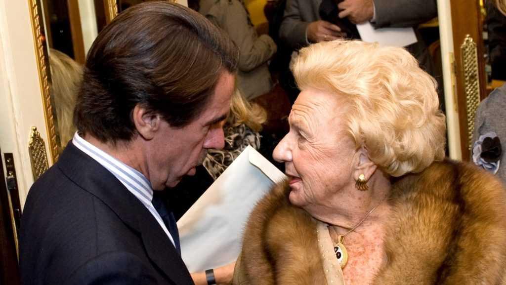 Muere a los 98 años de edad la madre de José María Aznar
