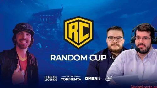 Kuentin, Yuste y CooLifeGame organizan la Random Cup, parada oficial del Circuito Tormenta