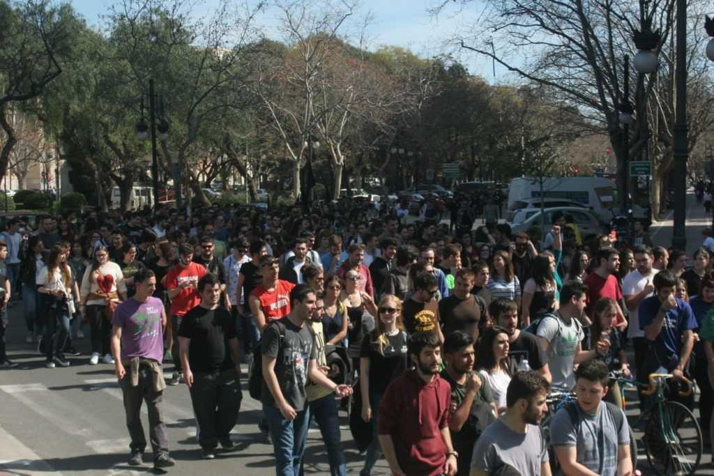 Organizaciones de estudiantes valencianas denuncian la falta de respuesta de las instituciones políticas y universitarias ante esta crisis