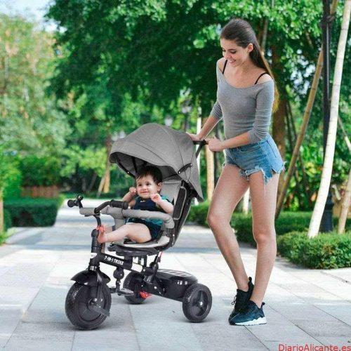Los triciclos evolutivos son muy importantes en cuarentena para el desarrollo evolutivo de nuevos niños