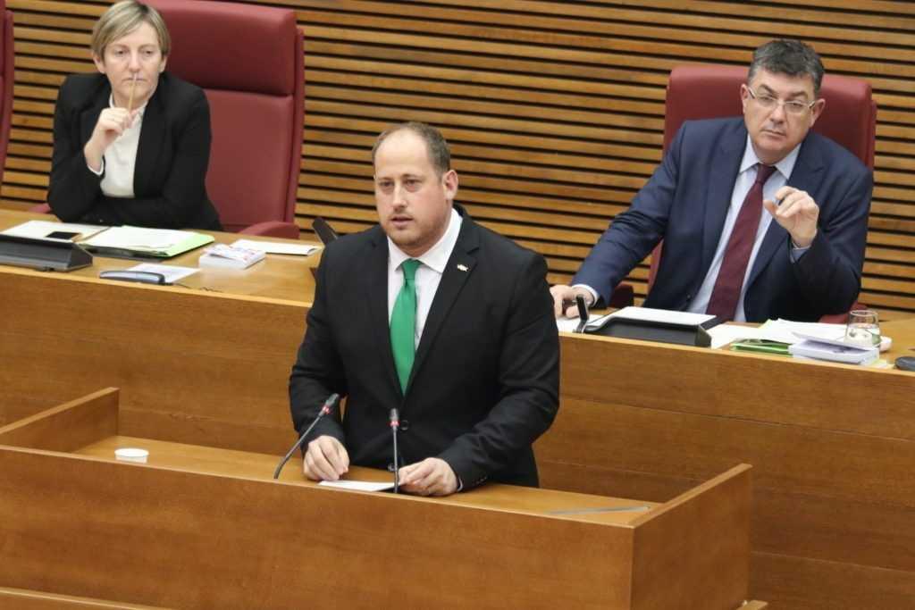 """David García (VOX) vota no al Plan Europeo de Reconstrucción """"porque hay que utilizar todos los recursos para salvar vidas y empleos"""""""
