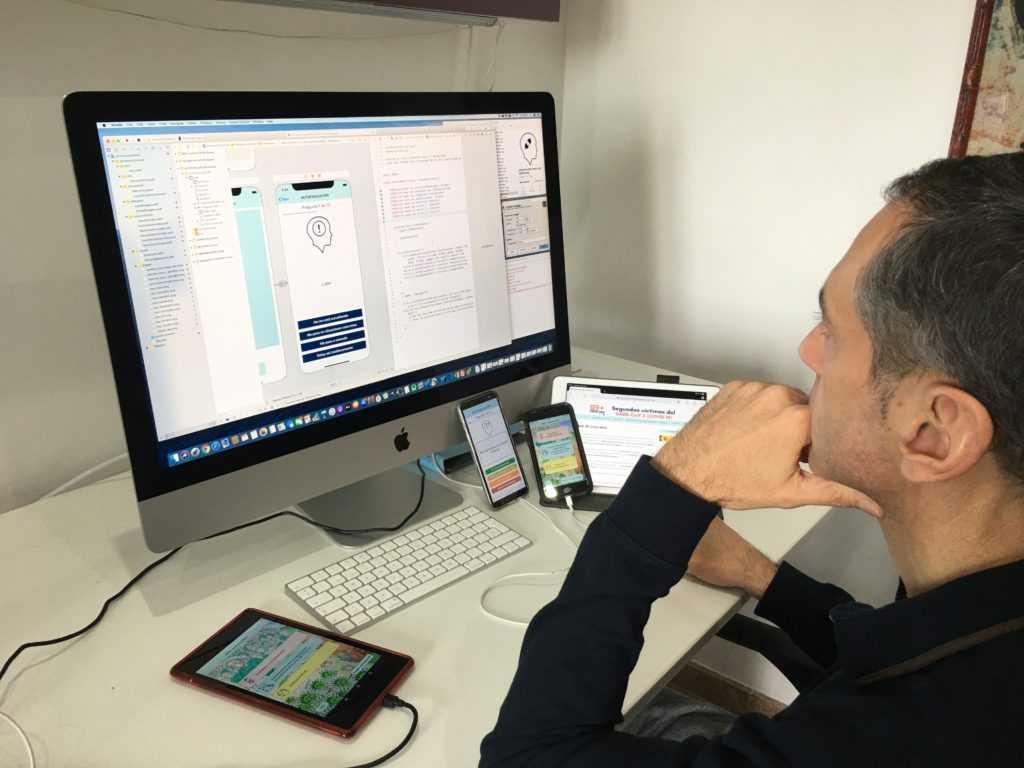 La spin-off del Parque Científico de la UMH AppAndAbout lanza una app para mitigar el estrés del personal sanitario frente al COVID-19
