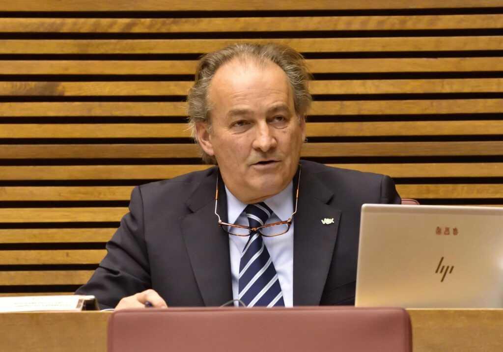 """Aguirre (VOX) pide al Consell que """"se ponga serio"""" frente a las políticas europeas que perjudican al campo valenciano"""