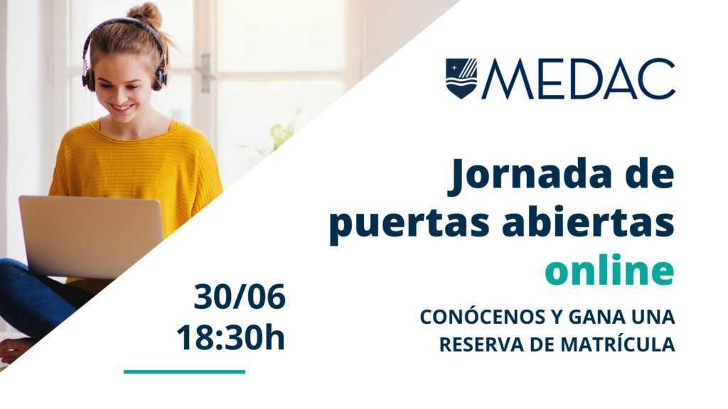 Instituto MEDAC celebra una jornada de puertas abiertas online