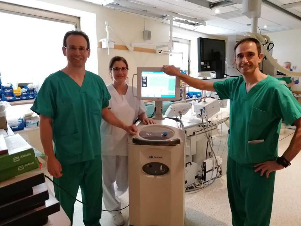 Cardiología del Hospital General de Elche incorpora la última tecnología en el tratamiento de las arritmias cardiacas