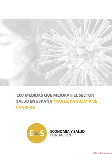 """Presentación a la Comisión para la Reconstrucción de """"100 medidas"""" tras el Covid-19 de la Fundación Economía y Salud"""