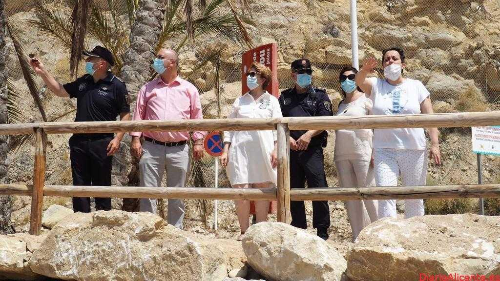 La playa del Bol Nou se abre de nuevo al baño tras finalizar las obras de adecuación de Costas