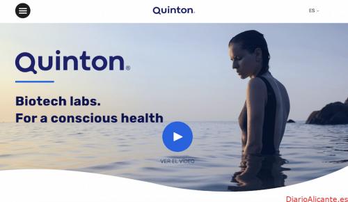 Quinton renueva su imagen de marca estrenando naming, logo y página web