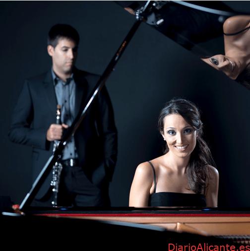 Ángel Belda y la pianista Carmen Paula Romero ofrecerán Concierto en Denia