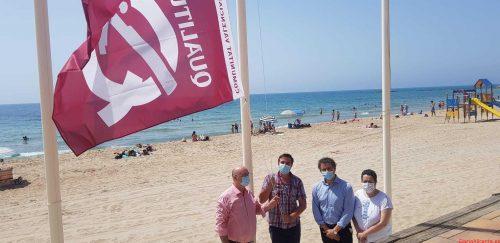 11 playas de la Vila Joiosa reciben la distinción Q de Qualitur que otorga Turisme Comunitat Valenciana