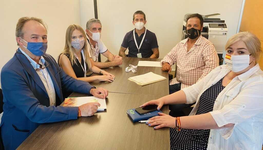VOX muestra su apoyo a los organizadores del espectáculo taurino de Moncada que fue suspendido el día antes por parte del Ayuntamiento y de la Generalitat Valenciana