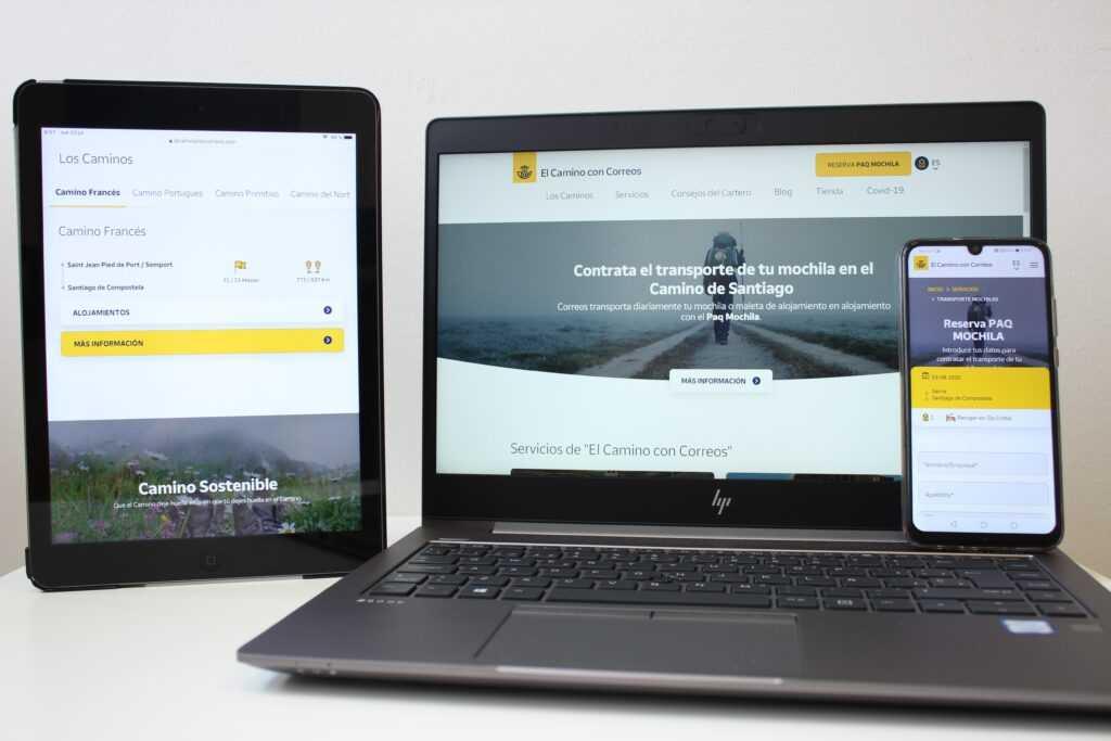 Correos lanza su nueva web del Camino de Santiago