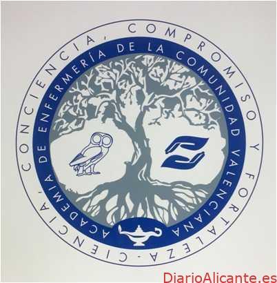 """""""Ciencia, Conciencia, Compromiso y Fortaleza"""", lema de la Academia de Enfermería de la Comunitat Valenciana"""