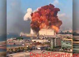 Explosión en el puerto de Beirut con mas de 50 Fallecidos