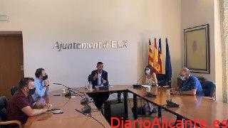 El alcalde de Elche anuncia la congelación de impuestos y tasas para 2021