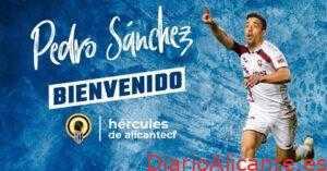 El Aspense Pedro Sánchez nuevo jugador del HérculesCF
