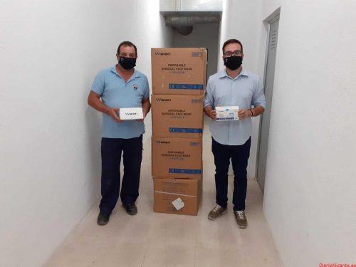 El Gobierno de España entrega 8.000 mascarillas al Ayuntamiento de la Vila