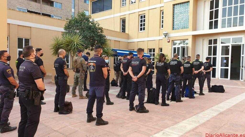 La Vila acoge el curso de Operativa Policial de Unidades de Seguridad Ciudadana y Unidades K9