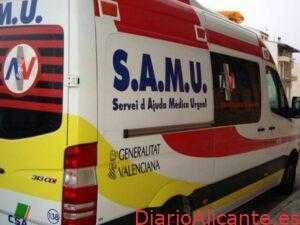 Fallece una joven de 22 años en un accidente de tráfico en la carretera de Monóvar