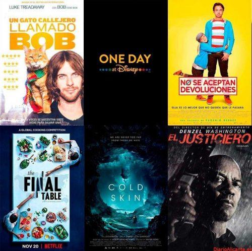 Novedades de cine y video 17/10
