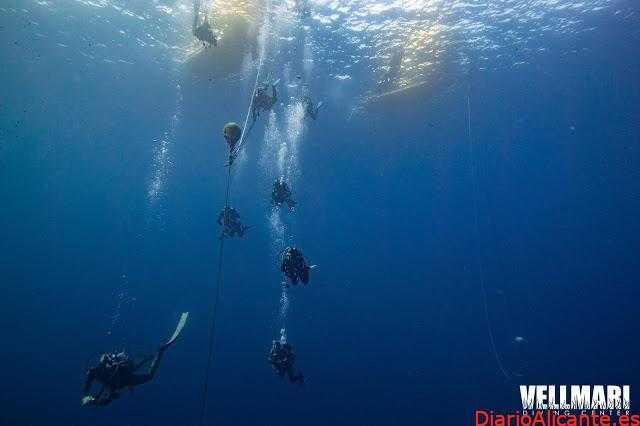 Bucear en el barco hundido más grande del mediterráneo